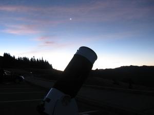 Venus with scope